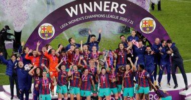 Photo of سيدات برشلونة يتوجن بلقب دوري أبطال أوروبا للمرة الأولى برباعية في تشيلسي