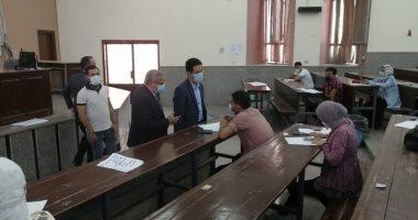 "Photo of ""الجيزاوى"" يتابع امتحانات كلية العلوم ويشدد على الإجراءات الاحترازية بجامعة بنها"