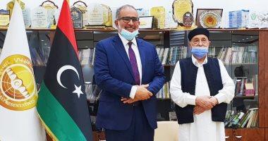 Photo of النايض يبحث مع رئيس البرلمان الليبى إجراء الانتخابات الليبية 24 ديسمبر المقبل