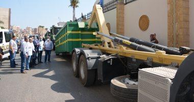 Photo of محافظ الدقهلية: محطة متحركة لنقل القمامة لمصانع التدوير بتكلفة 30 مليون جنيه