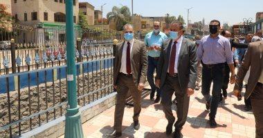 Photo of محافـظ المنوفية يتفقد أعمال تطوير حديقة الأسرة والطفل النموذجية بتلا