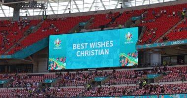 Photo of يورو 2020.. ملعب ويمبلي الإنجليزى يؤازر كريستيان إريكسن