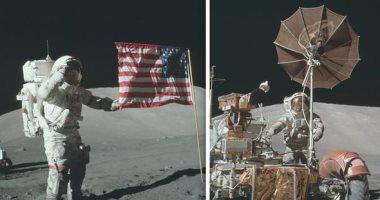 """حقيقة أم أكذوبة.. كيف ردت """"ناسا"""" على تكذيب صعود الإنسان إلى سطح القمر"""