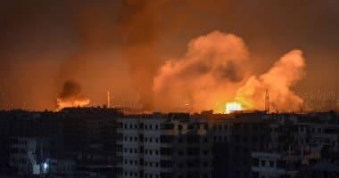 """""""سانا"""": الدفاعات الجوية السورية تصدت لهجوم إسرائيلي في سماء مدينة حمص"""